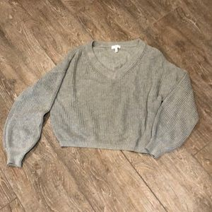 Cropped BP sweater